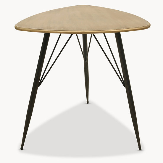 GRANVILLE SMALL TRIANGULAR SIDE TABLE