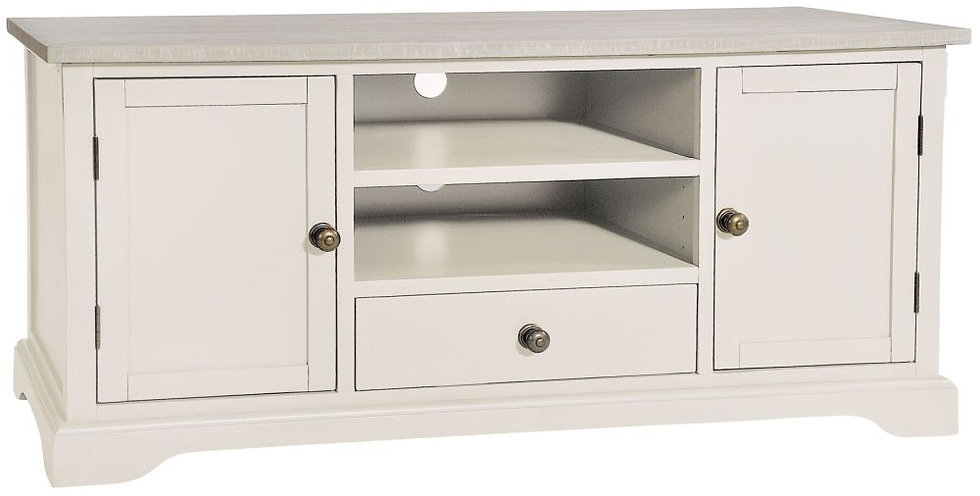 Wakefield Ivory Painted 2 Door 1 Drawer TV Cabinet