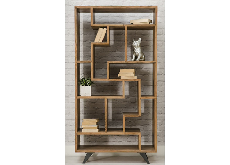 INDUSTRIAL LUXE BOOKCASE