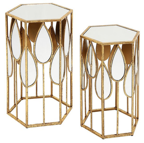 VERA TABLES (SET OF TWO)