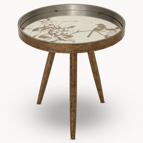 WALTHAM TRAY TABLE WITH BIRD PATTERN