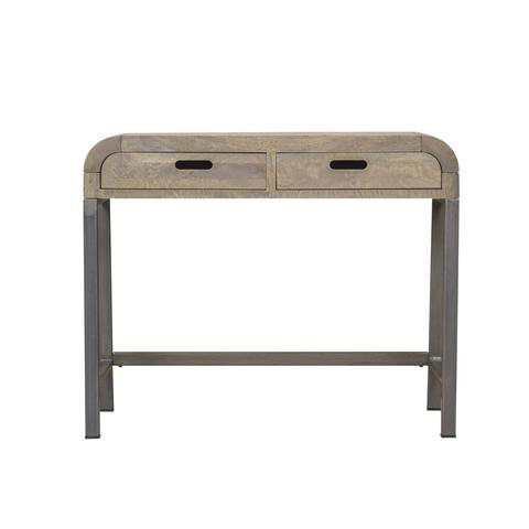 ROBYN GREY MANGO WOOD CONSOLE TABLE