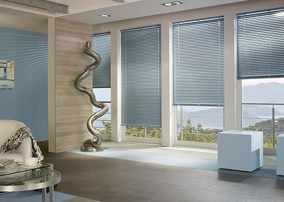 aluminium ventian blinds at Paul Edwards Interiors