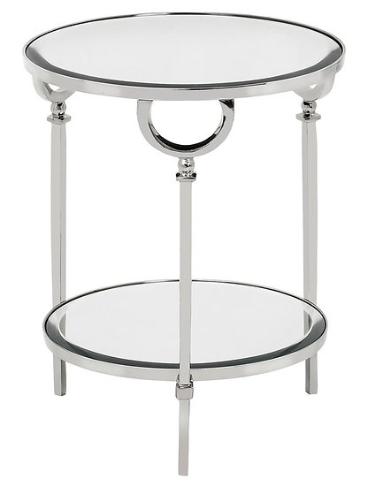 BAYONNE 2 TIER ROUND TABLE