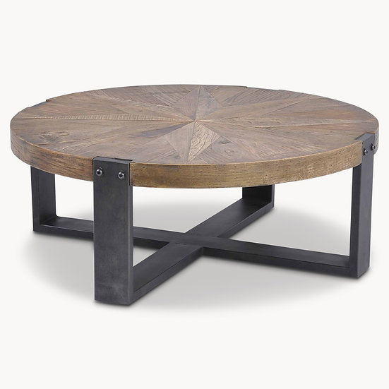 WOODCROFT RECLAIMED ELM COFFEE TABLE