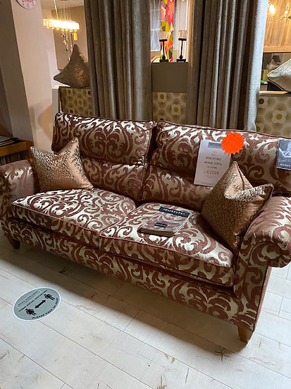 Duresta Three Seater chair and Wing Chair
