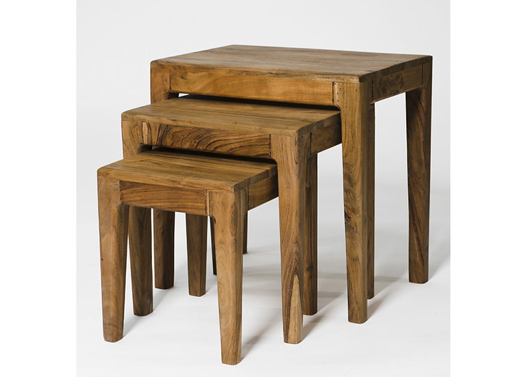 Byron Acacia Wood Nest Of Tables