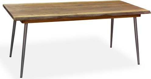 LIVING NATURAL EDGE DINING TABLE 6-8 SEATER