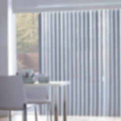Vertical blinds at Paul Edwards Interiors