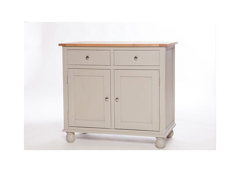 Avoca Painted 2 Door 2 Drawer Narrow Sideboard