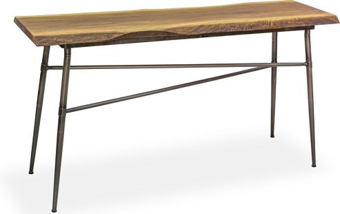 LIVING NATURAL EDGE CONSOLE TABLE