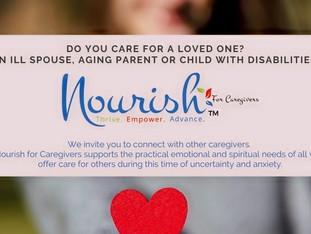 Nourish for Caregivers - 7pm Oct. 7  at Saint Michael Hall