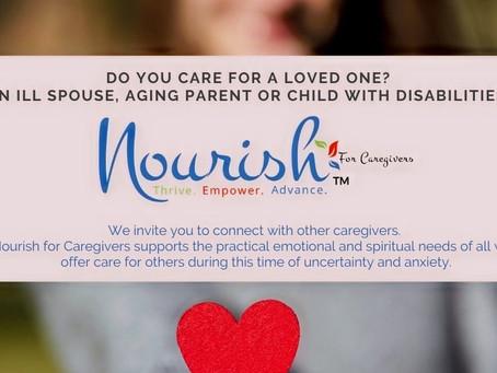 Nourish for Caregivers - 7pm Nov. 4  at Saint Michael Hall