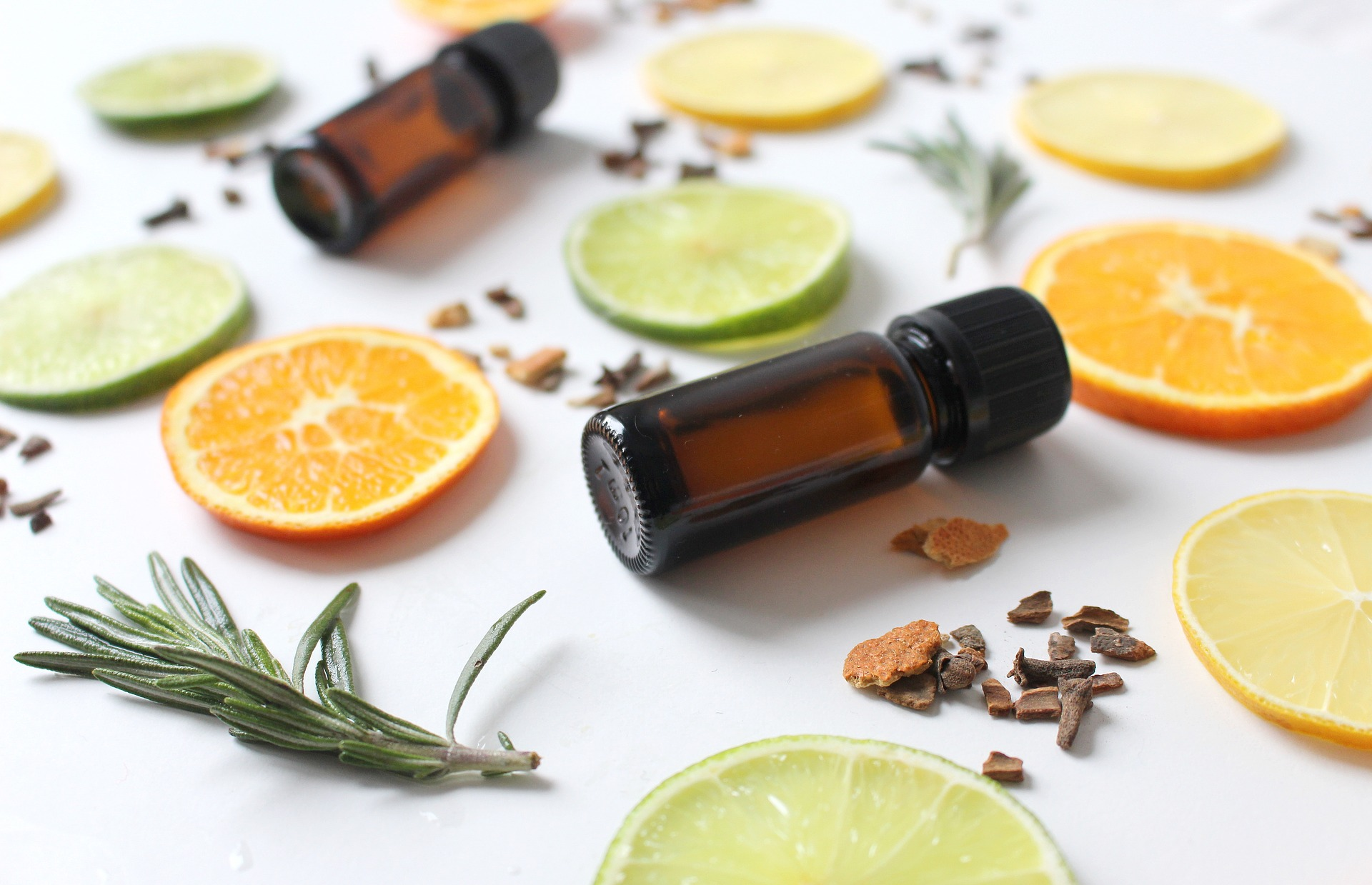 essential oils and food