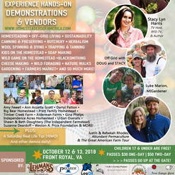 2018 Homesteaders of America Conference