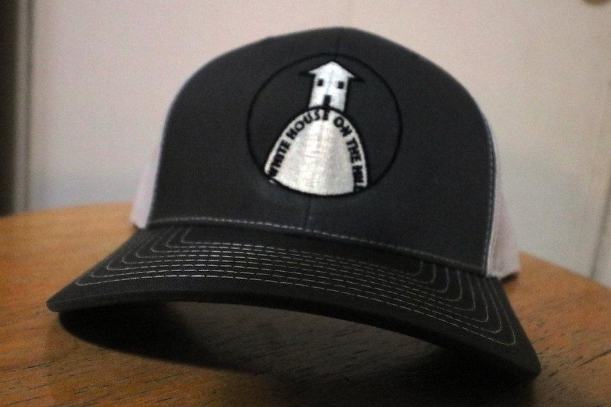 Trucker Hat (Black/White)