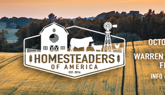 2019 Homesteaders of America Conference