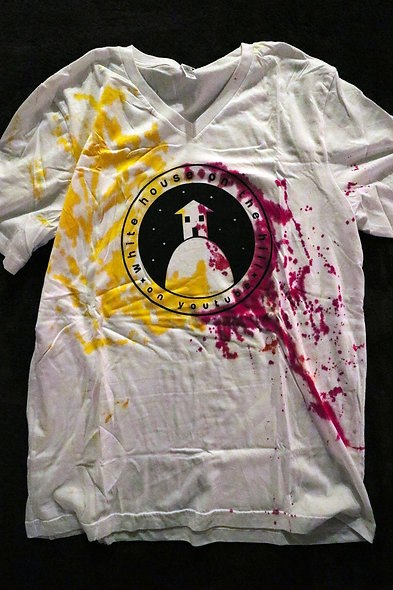 Men's Hand-painted Tee (27)