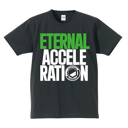 ETERNAL ACCELERATION T shirt  black