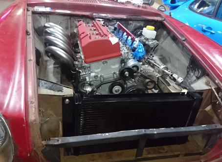 SRL311 フェアレディ F20Cエンジン