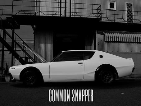 2015 COMMON SNAPPER ポスター販売中!!