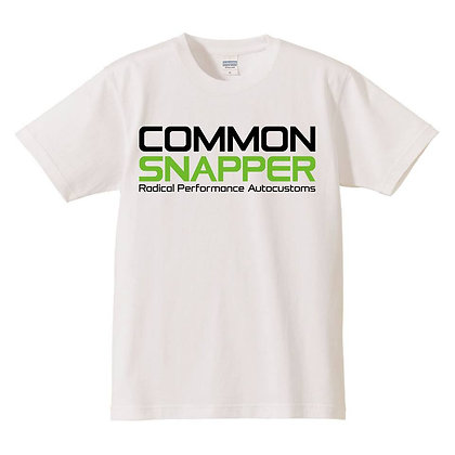 COMMON SNAPPER Tshirt  white