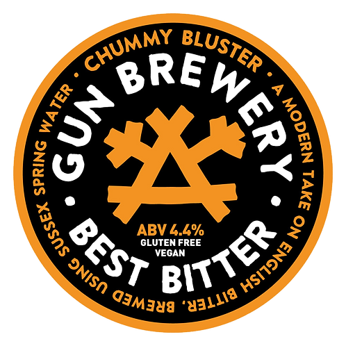 4 Pints of Chummy Bluster from Gun Brewery