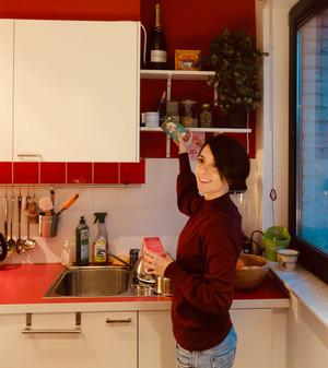 Dans la cuisine d'Ema