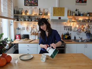 Dans la cuisine d'Aline
