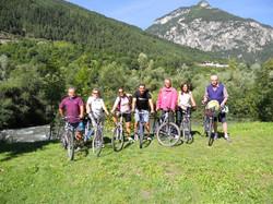 Biciclettata Canazei-Lago di Tesero