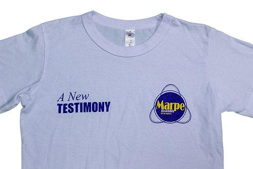 White New Testimony T-Shirt
