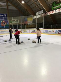 Curling in Düdingen 2018