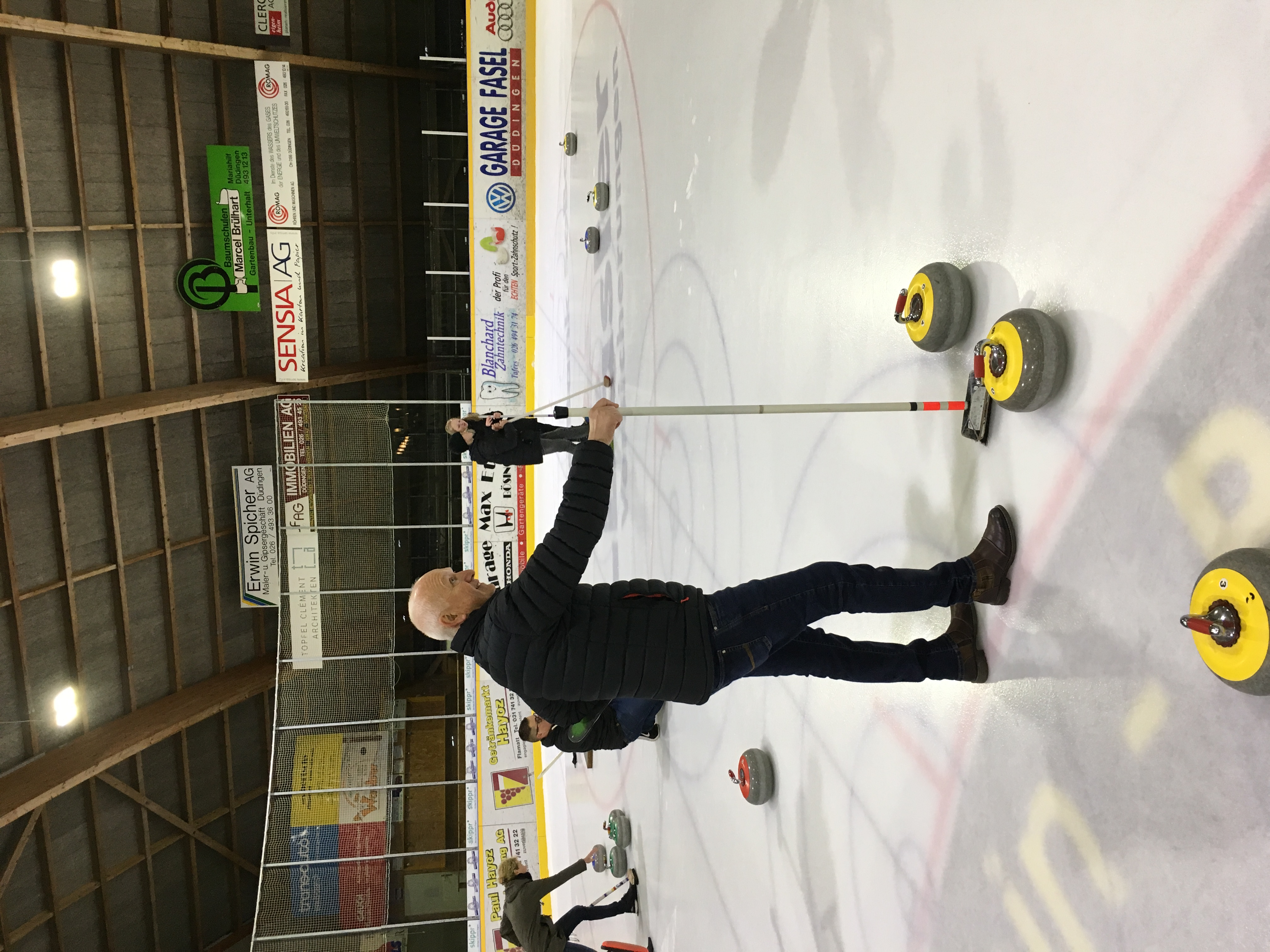 Curling in Düdingen 2018