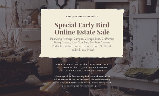Special Early Bird Online