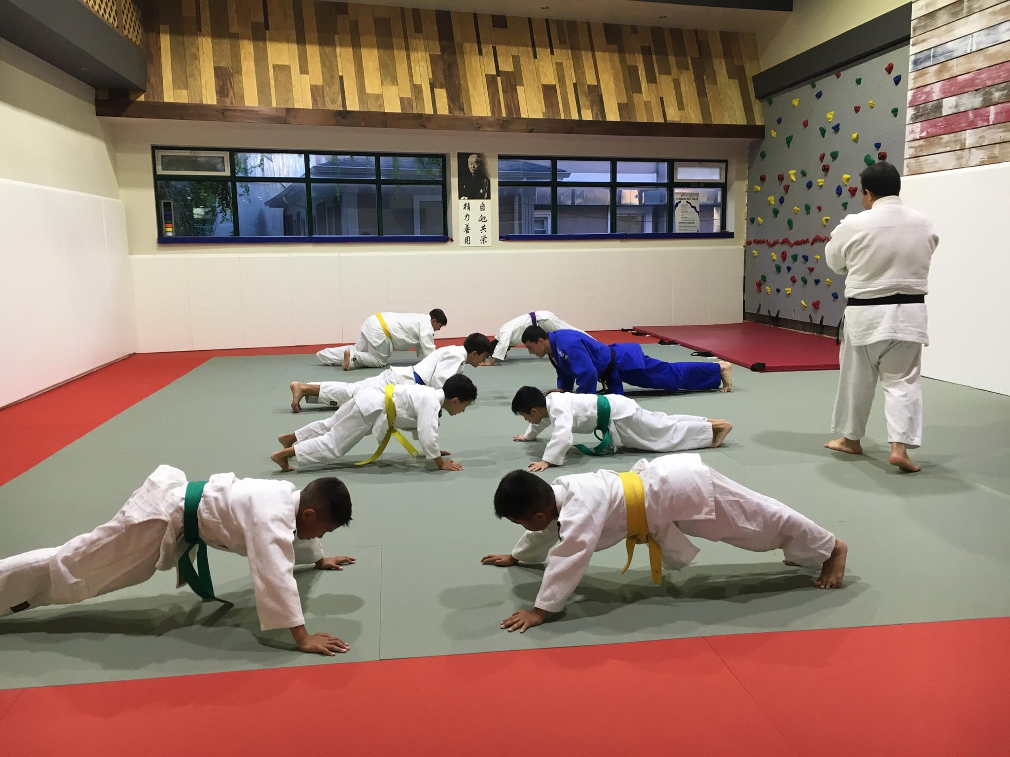 Judo lesson at IJC NYC