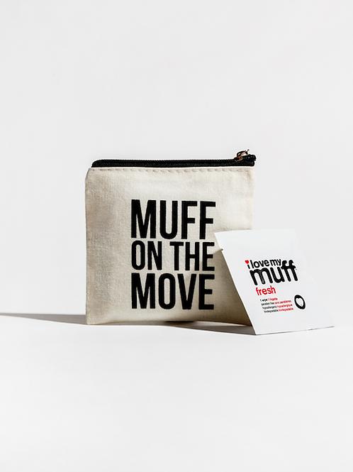 MUFF ON THE MOVE - 6 PK FRESH WIPE