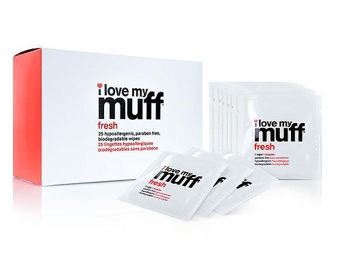 I Love My Muff - Fresh Wipes