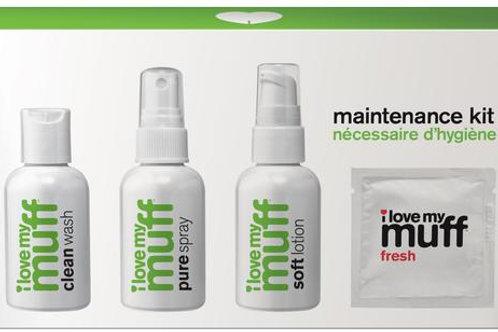 I Love My Muff Maintenance Kit