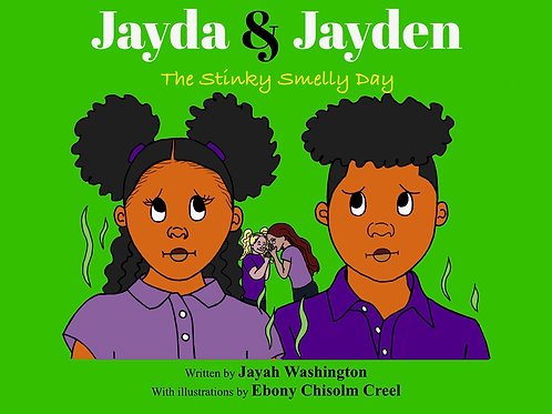 Jayda & Jayden The Stinky Smelly Day E-Book