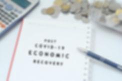 Post covid-19 economic recovery conceptu