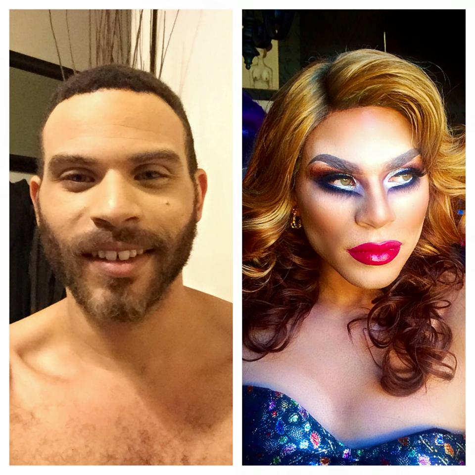 Drag Before & After