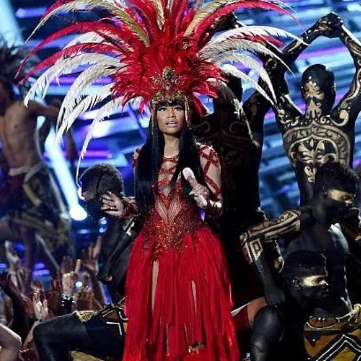 Nicki Minaj 2015 VMA performance