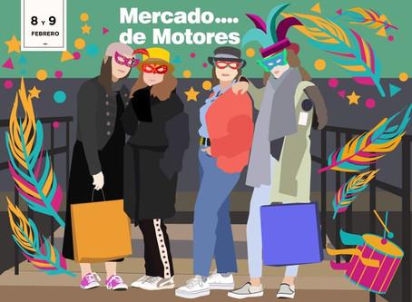 Mercado de Motores (MADRID) 8 y 9 Febrero.