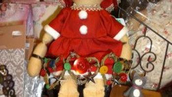 クリスマスドール 人形 ぬいぐるみ クリスマス