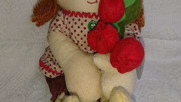 カントリードール 女の子ドール 人形 ハンドメイドドール