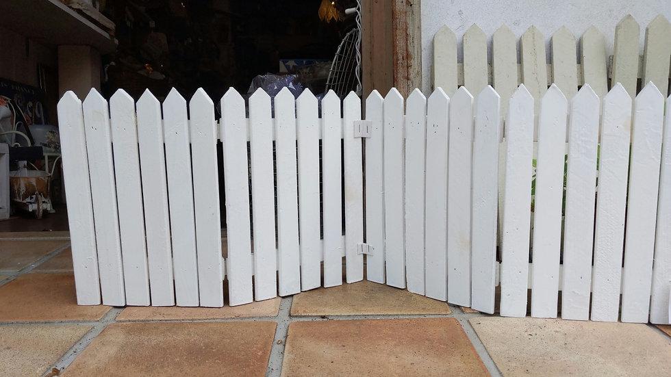 木製ガーデンフェンス  ガーデニング  ホワイトウッド