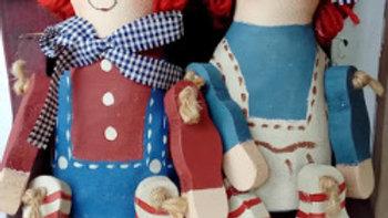 ウッドドール 人形 カントr-ドール ハンドメイド