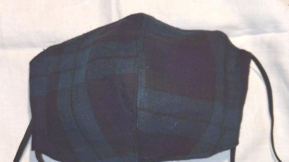 手作りマスク サイドポケット付き不織布付き