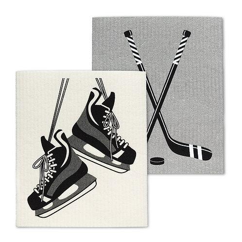 Hockey Set of 2 Dish Clothes