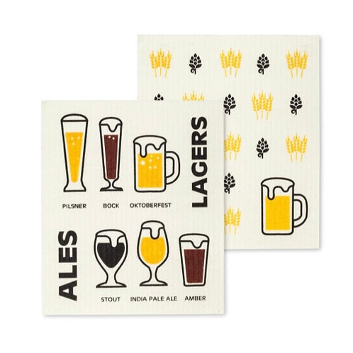 Beer Dish Cloths